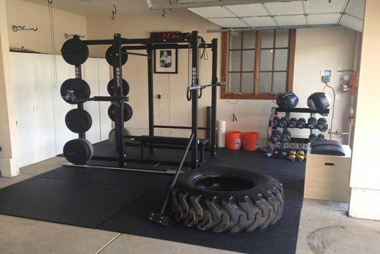 Transform Your Garage Into A Home Gym, Best Space Heater Garage Gym
