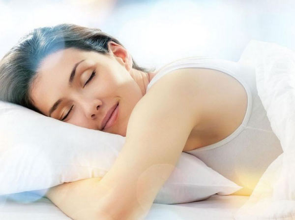 Sleep on wet cloth