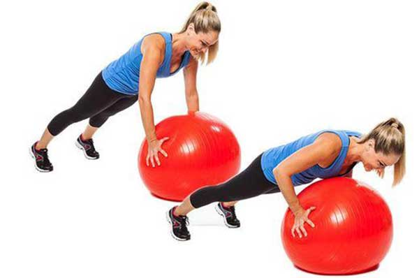 Stability Ball Push-Ups