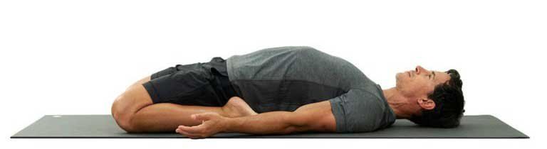 Supta Virasana (Reclining Bound Angle Pose)