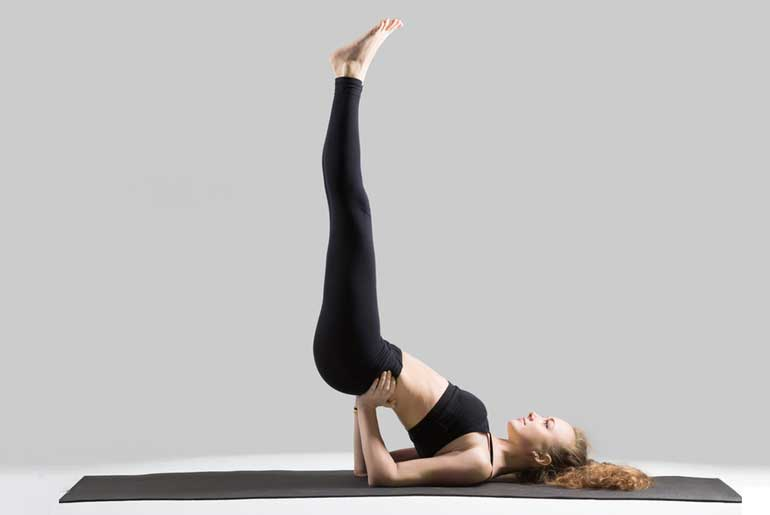 Viparita Karani (Legs-Up-the-Wall Pose)