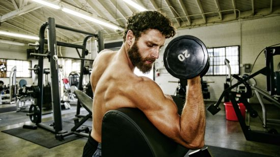 Concentrated Biceps Curl