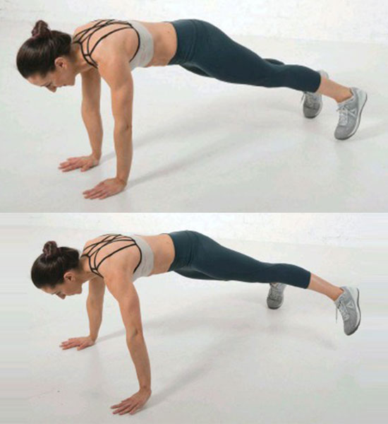 Lateral Plank Walk