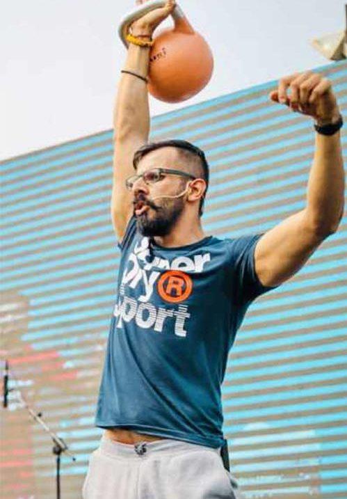 Vinay Sangwan fitness