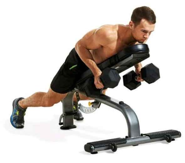 Incline-Dumbbell-Row