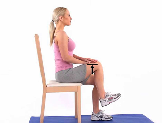 Sitting Knee March