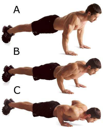 Push-up for chest