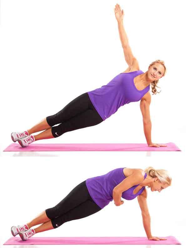 Rotating Side Plank