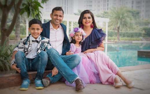 Preety Tyagi family