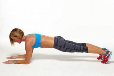 Plank Crawl for Weight Loss