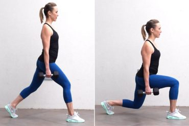 Walking Lunges for Weight Loss