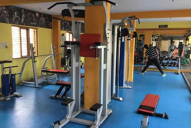 City barbell gym