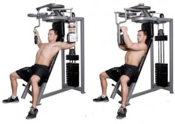Seated Pec Deck Machine