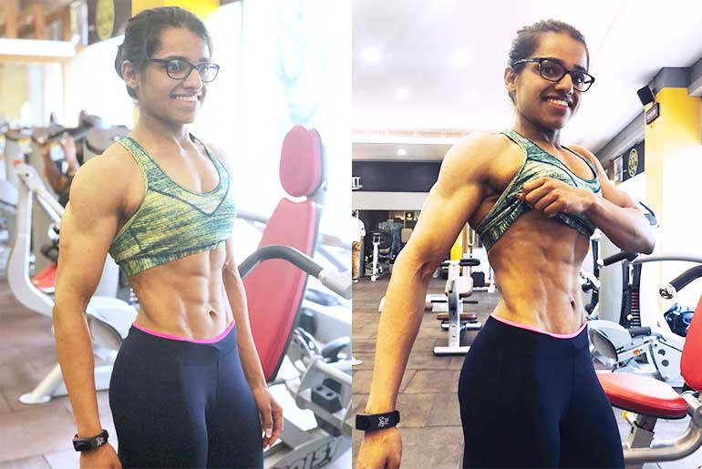 Tejaswini Pandit Abs and Online Fitness