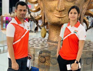 Aniket Gupta and Deepika Diman