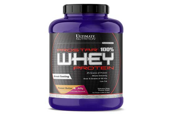 Ultimate Nutrition Prostar Whey Protein Powder