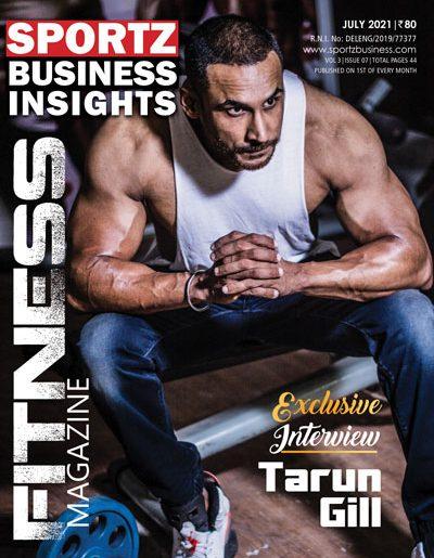 sportzbusiness magazine July cover 2021